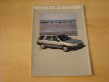 50595) Renault R21 Nevada Prospekt 1988