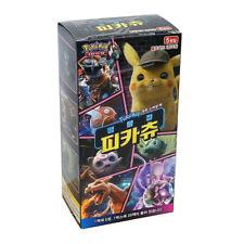 Pokemon Card Game 'Detective Pikachu' Booster Box 20 Packs / Korean Version