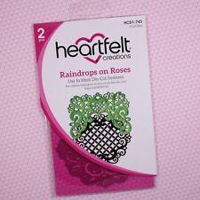 Heartfelt Creations Cut&Emboss Dies By Spellbinders ~ Raindrops On Roses HCD743