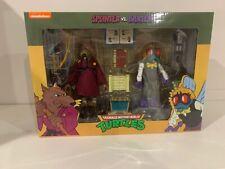 NECA Teenage Mutant Ninja Turtles Splinter & Baxter Action Figure TMNT