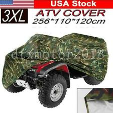 US 3XL Waterproof ATV Camouflage Cover For Can-Am Honda Polaris Suzuki Yamaha