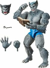 "Marvel Legends 6"" Classic Grey Beast Variant Vintage Sealed New X-Men Avengers"
