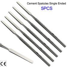 X5 Dental Amalgam Mixing Cement Spatulas Carving Restorative Filling Tools Labor