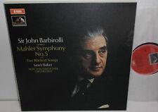 SLS 785 Mahler Symphony No.5 New Philharmonia Orchestra Sir John Barbirolli 2LP