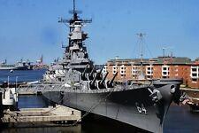 New 5x7 United States Navy Photo: USS WISCONSIN (BB-64) Iowa-class Battleship