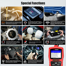 V301 OBDII Car Diagnostic Scanner OBD2/EOBD/CAN Code Reader Airbag Reset DPF EPB