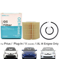 Oil Filter For Toyota Prius Hatchback Prius Plus MPV 1.8 Hybrid 1798ccm Engine