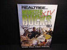 Realtree Monster Bucks Xiv Volume 1 Hunting Dvd B329