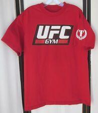 Triumph United UFC Gym Short Sleeve Tee Shirt Mens Red Size L