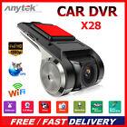 Anytek X28 FHD 1080P 150° Dash Cam Car DVR Camera Recorder WiFi ADAS G-sensor