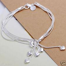Pulsera de Plata, pulsera de plata Joyería de Moda