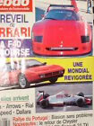 AUTO-HEBDO 1989 FERRARI F40 COURSE + MONDIAL T / PORSCHE 944 S2 / RENAULT 25 TXi