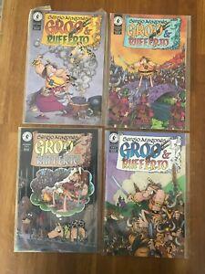 Groo & Rufferto 1-4 ((set) Sergio Aragones Pacific Comics