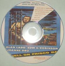 FILM NOIR 435 HELL ON FRISCO BAY 1955 Frank Tuttle, Alan Ladd, Edward G Robinson