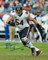 BRIAN URLACHER Autographed Signed 8x10 Photo ( Bears HOF ) REPRINT