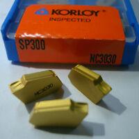 ORIGINAL KORLOY SP300 NC3030 CARBIDE INSERTS CNC TOOL NEW