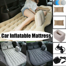 Inflatable Mattress Car Air Bed Back Seat Cushion Travel Camping + Pillow Pump