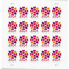 40 Hearts Blossom Love Forever 2 Sheets Of 20 Postage each FREE SHIPPING