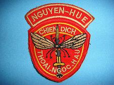 """NAM WAR PATCH, ARVN OPT. MOSQUITO NGUYEN HUE """" CHIEN DICH THOAI NGOC HAU """""""