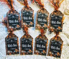 Set of 8 Hang Tags~Halloween Witch's Brew~Gift Tags~Party~Card's~Scrapbook~#335R