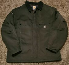 Carhartt Men's Yukon Extremes Artic Quilt Lined Jacket C55 Black Size XL X-Large