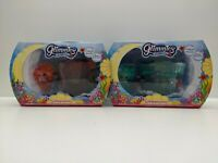 Set of 2 x Glimmies Aquaria Glimquarius Sets - Brand New