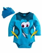 NEW Disney Store Baby Boy Or Girl Costume Finding Dory Bodysuit Outfit Sz: 3-6