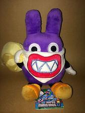 Super Mario Plush Teddy - Nabbit Soft Toy - Size:21cm - NEW FREE POSTAGE