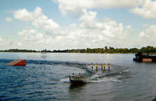 Cypress Gardens 1955-59 Red Border Kodachrome Mount 35mm Slide Skiers