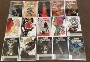 15 Abe Sapien lot #6 7 8 26 27 Abyssal Plain Devil Does Not Jest Hellboy comics