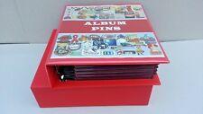 Album SUPERMAMUT, PINS,con CAJETÍN + 7 HOJAS ESPECIALES Gran Luxe. GRANATE