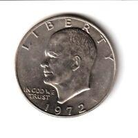 1 Dollar 1972 Eisenhower (Philadelphie) ÉTATS-UNIS D'AMÉRIQUE - SUP++