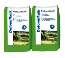 (0,43€/1kg) Hamann Dolomitkalk 50 kg Gartenkalk Kalk Rasenpflege Rasenkalk