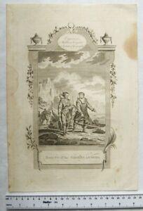 Vintage engraving: Habits of the Groenlanders