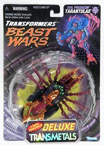 Hasbro 1998 Transformers Beast Wars Transmetals Tarantulas nice