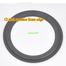 """1pcs 12"""" inch Speaker foam edge subwoofer surround repair parts"""
