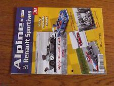 $$$ Fascicule Alpine & Renault sportives N°38 Alpine Renault A 441JP Malcher