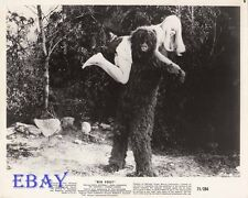 Joi Lansing carried by Monster VINTAGE Photo Big Foot