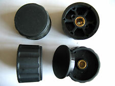 "AUGAT / ALCO COLLET KNOB RADIO HAM Control - NOS 1/4"" Shaft - 1 Pc"
