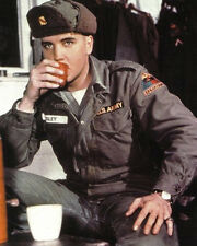 Elvis Presley in the US Army drinks 10x8 Photo