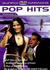 Sunfly Karaoke DVD Pop Hits Vol.1 (DVD) - DIRECT FROM SUNFLY