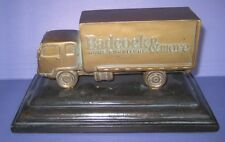 Badcock Home Furniture Metal Truck 100 Years 1904-2004 on Wooden Base