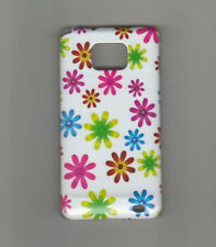 Case Cover Samsung Galaxy S2 I9100 Flowers High Gloss New