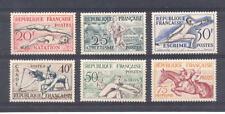 France - n° 960 à 965 neufs * avec trace de charnière - C: 53 €