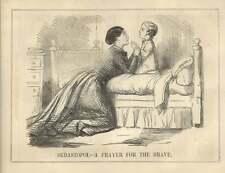 1854 Sebastopoli una preghiera per le coraggiose parodia satirica