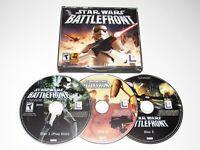 Star Wars Battlefront PC Game 2004 Complete Original