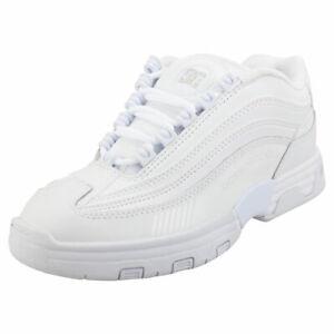 DC Shoes Legacy Lite Usa Femme White White Cuir et Synthetique Baskets Patin
