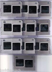 1997/98 McDONALDS ICE COMPLETE  GAME FILM INSERT SET OF 10 CARDS