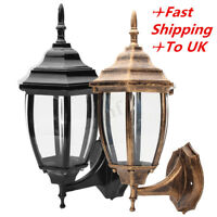 Aluminum Outdoor Garden Wall Lights Lamp Fixture Porch Patio Lantern Lighting