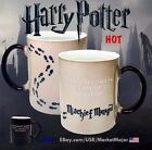 Harry Potter Mug Heat Sensitive Color Changing Cup Collectible Mischief Managed